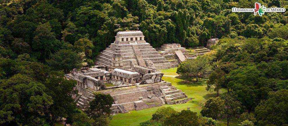 Lugares turísticos de Chiapas - Zona Arqueológica de Palenque