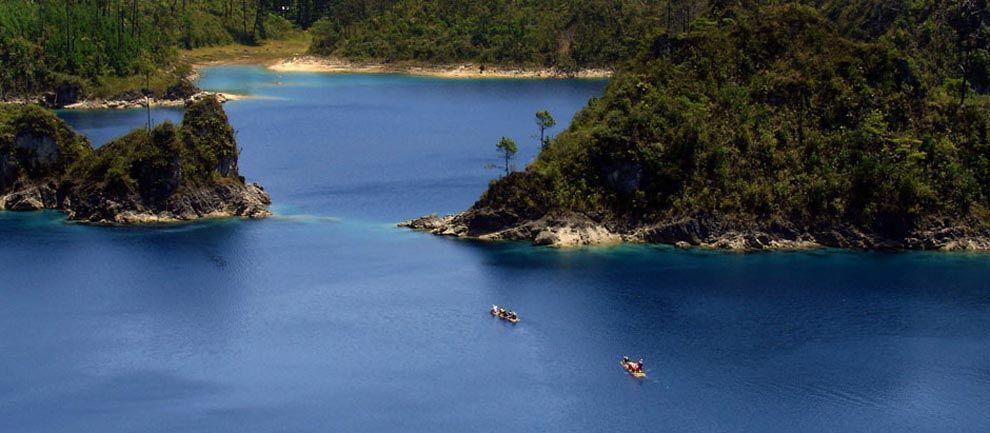 Lugares turísticos de Chiapas - Lagunas de Montebello